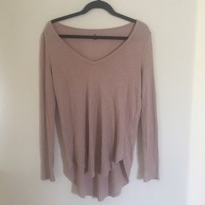 db52638bfd Me to We Tops | Pacsun Waffle Knit Oversized Long Sleeve | Poshmark